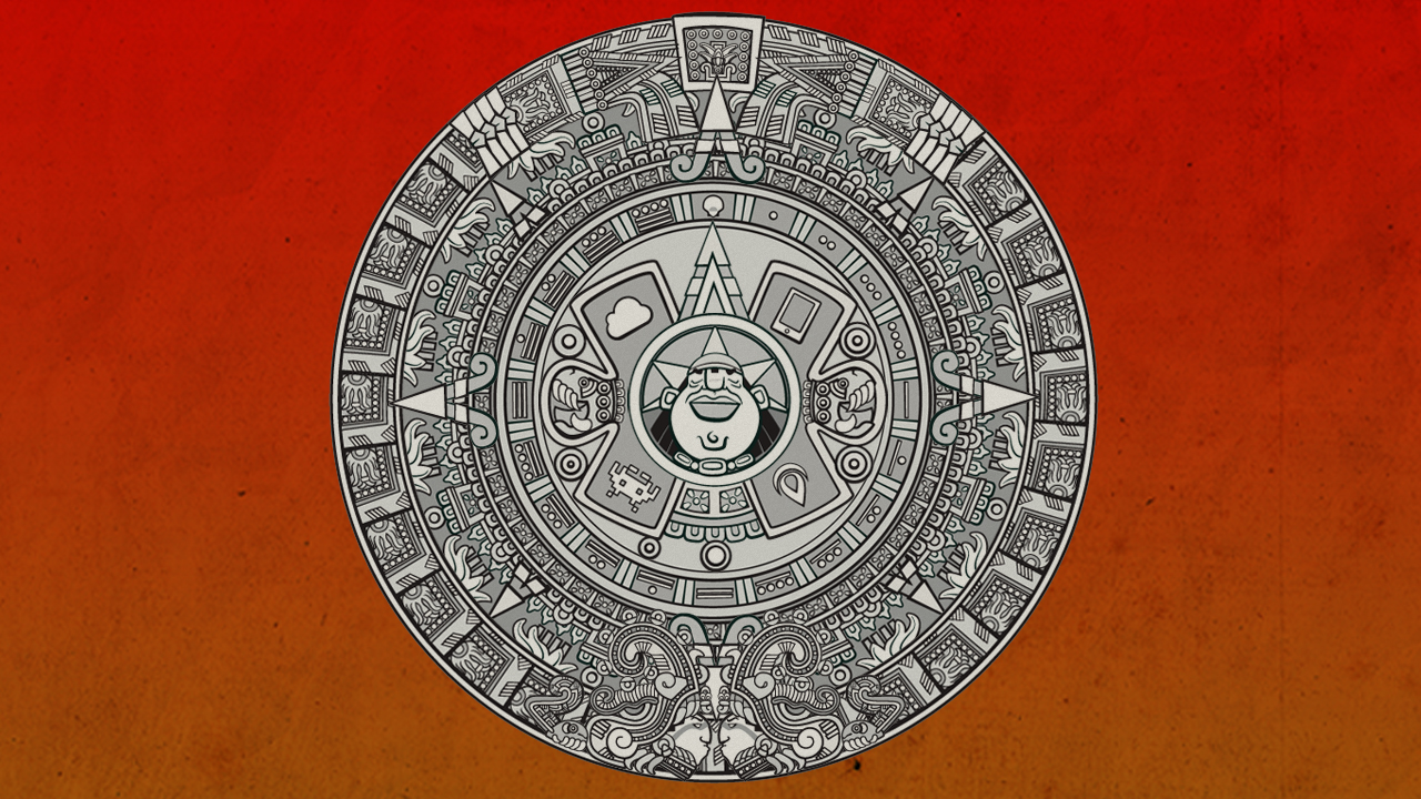 Barcelona Developers Conference 2012 Mayan Calendar Theme