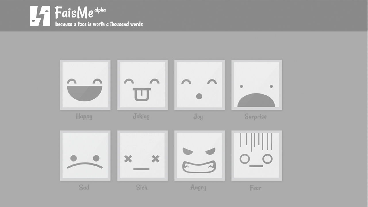 Fais.me an API to assign avatars to your mood status banner
